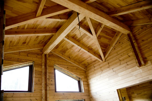 case in legno interno
