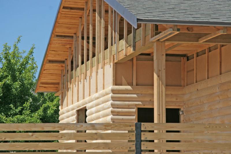 abitazioni in legno dubbi comuni alpi haus case in