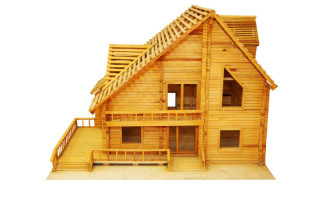 casa ecologica in legno