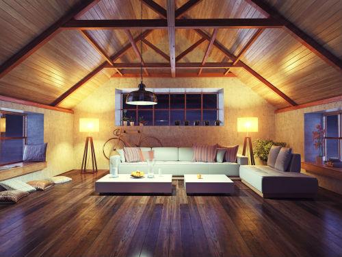 fare una casa in legno di design